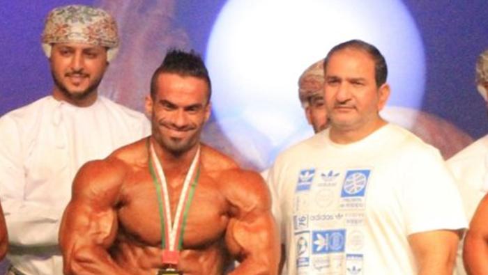 Ahmed Al Maskari wins top prize at Oman Bodybuilding Championship