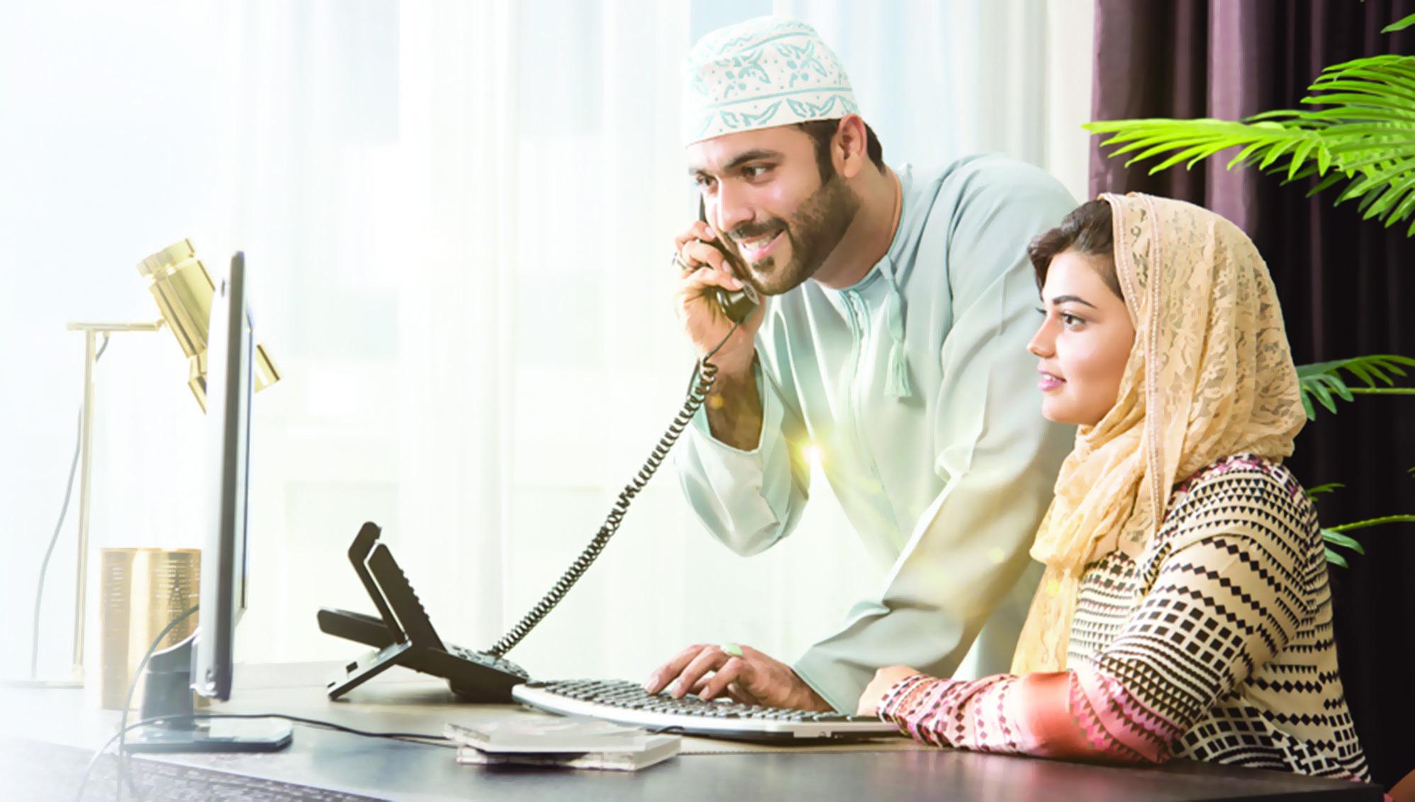 «عُمانتل» تتيح الخدمات  لمشتركيها عبر موقعها الإلكتروني