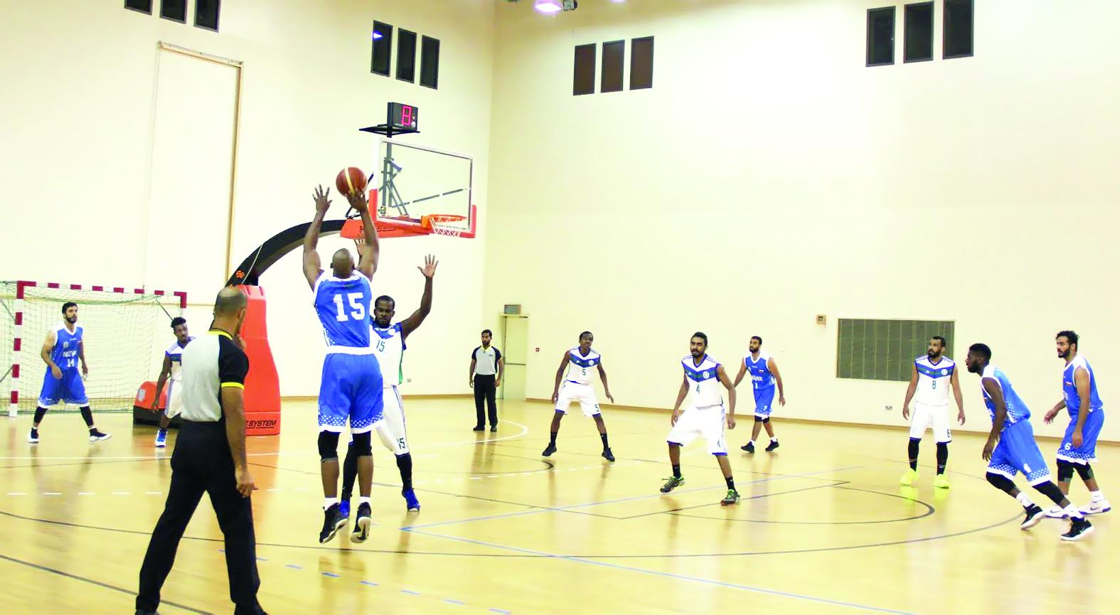 أهلي سداب يفوز على نزوى في الدوري العام لكرة السلة
