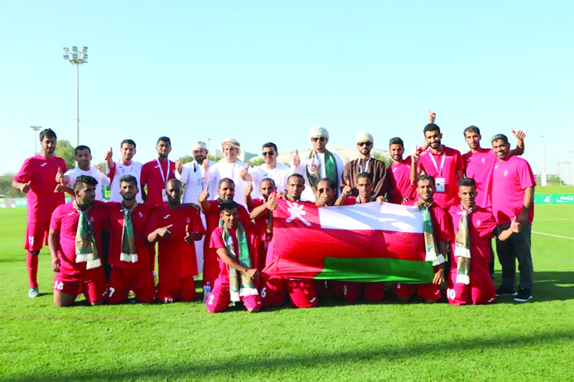 أبطال الأولمبياد الخاص لكرة القدم يتوجون بذهبية الألعاب الإقليمية التاسعة بأبوظبي