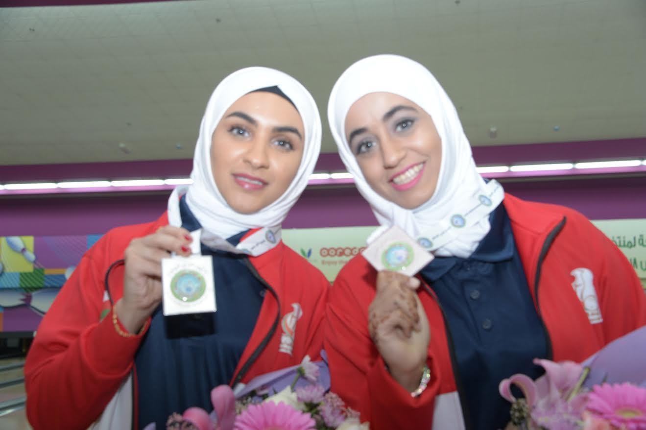 فتيات منتخبنا للبولينج يعانقن فضية العرب