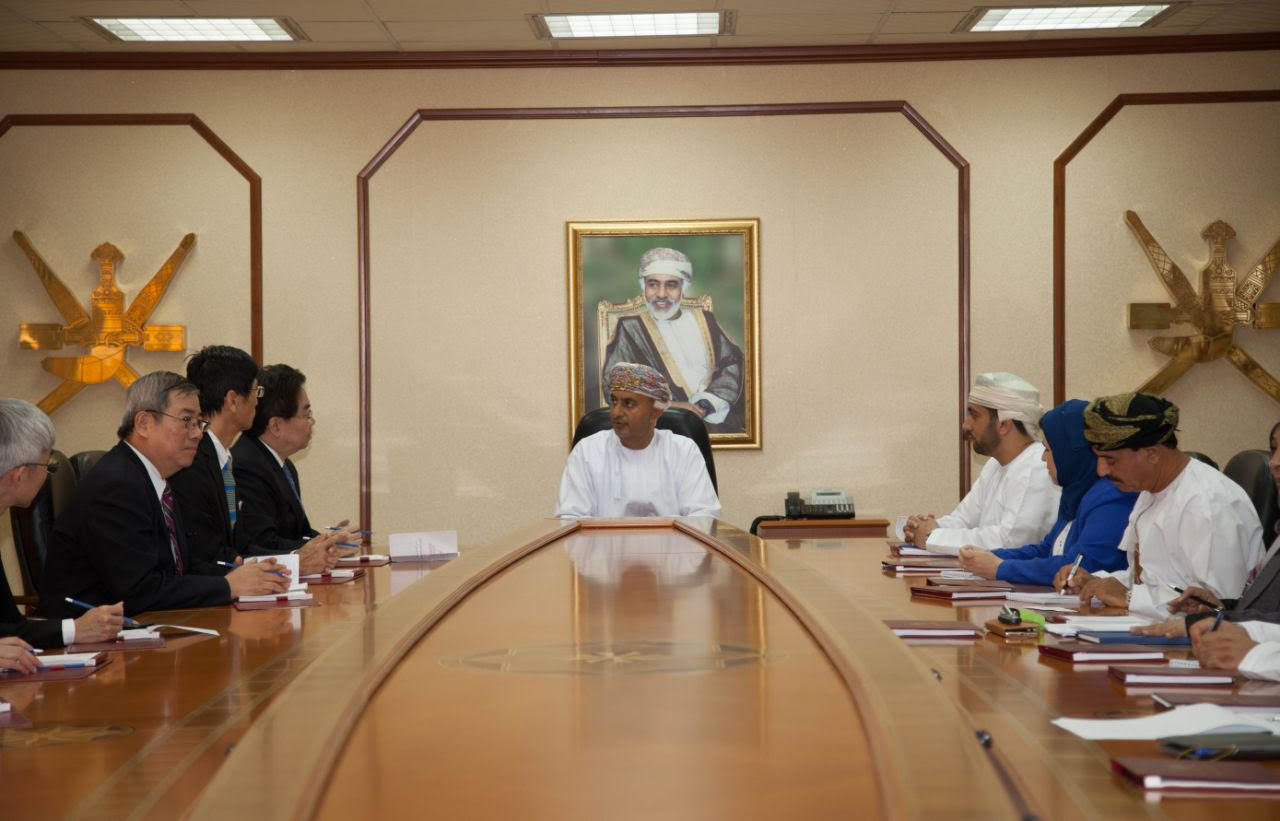 السنيدي يلتقي نائب رئيس مجلس تنمية التجارة الخارجية التايوانية
