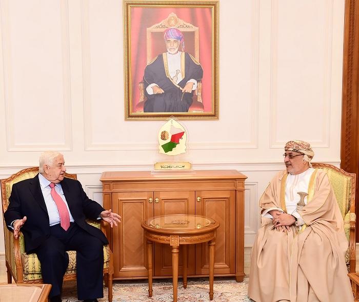 المنذري يستقبل وزير الخارجية السوري