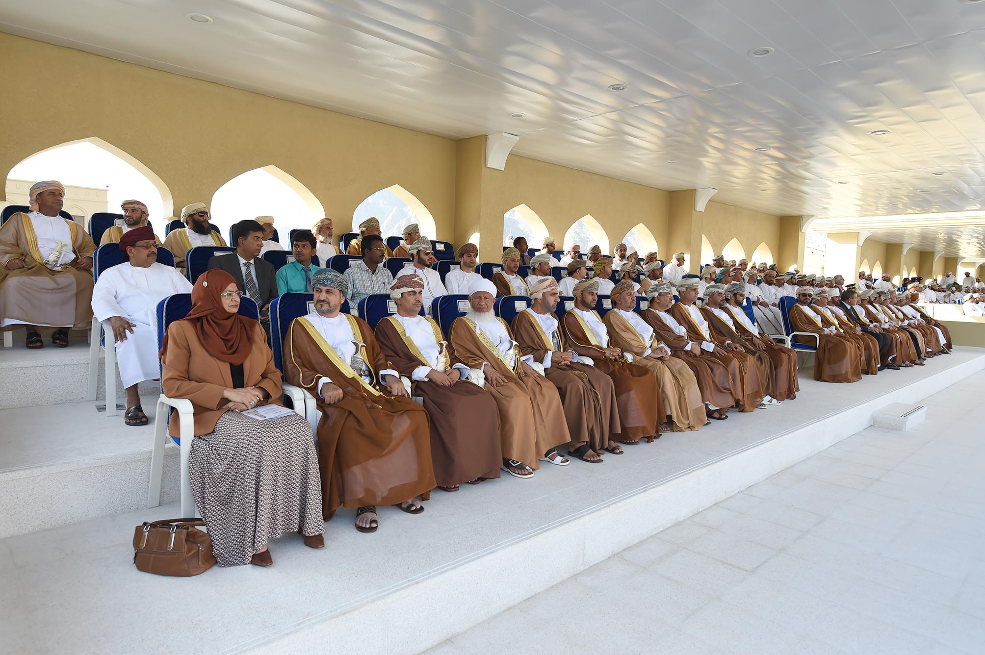 صور من افتتاح وحدة شرطة المهام الخاصة بمحافظة مسندم