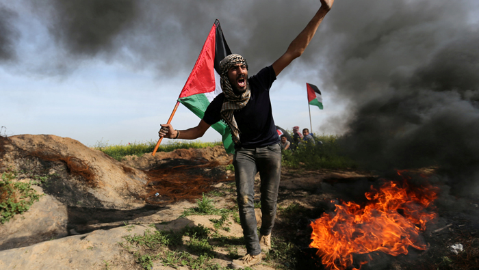Israeli troops kill Palestinian near Gaza border