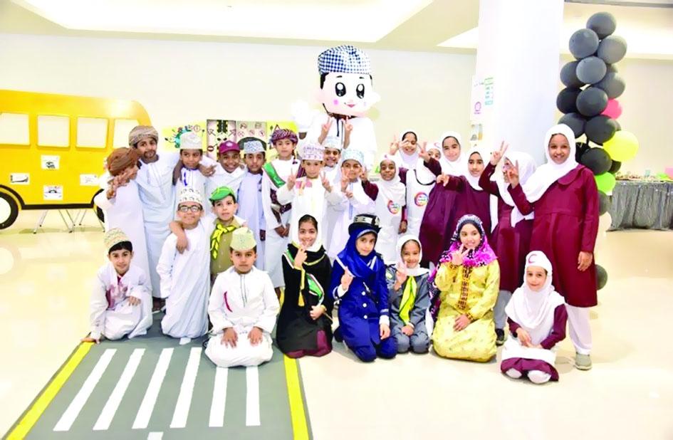 افتتاح معرض مروري بجامعة الشرقية