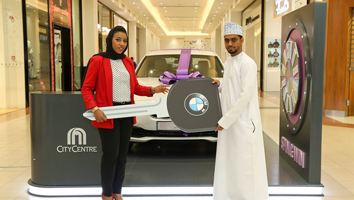Two citizens win BMWs at Muscat Festival