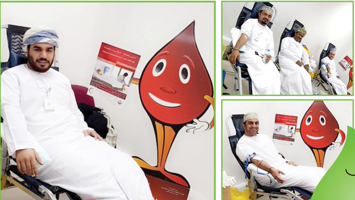 BankDhofar organises blood donation drive