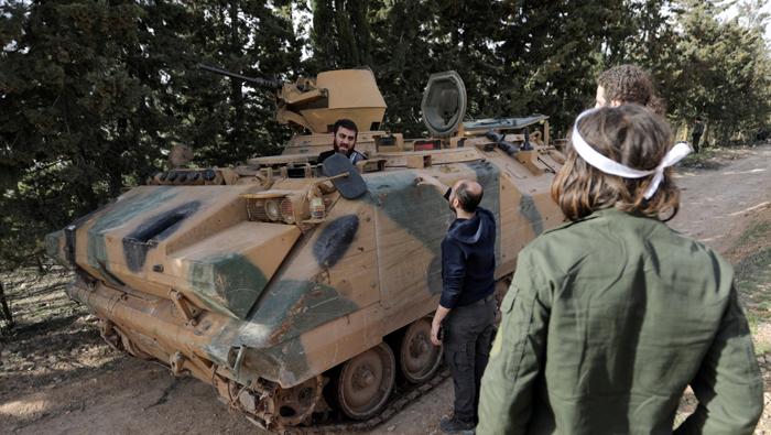 Turkish bombardment kills 13 in Syria's Afrin