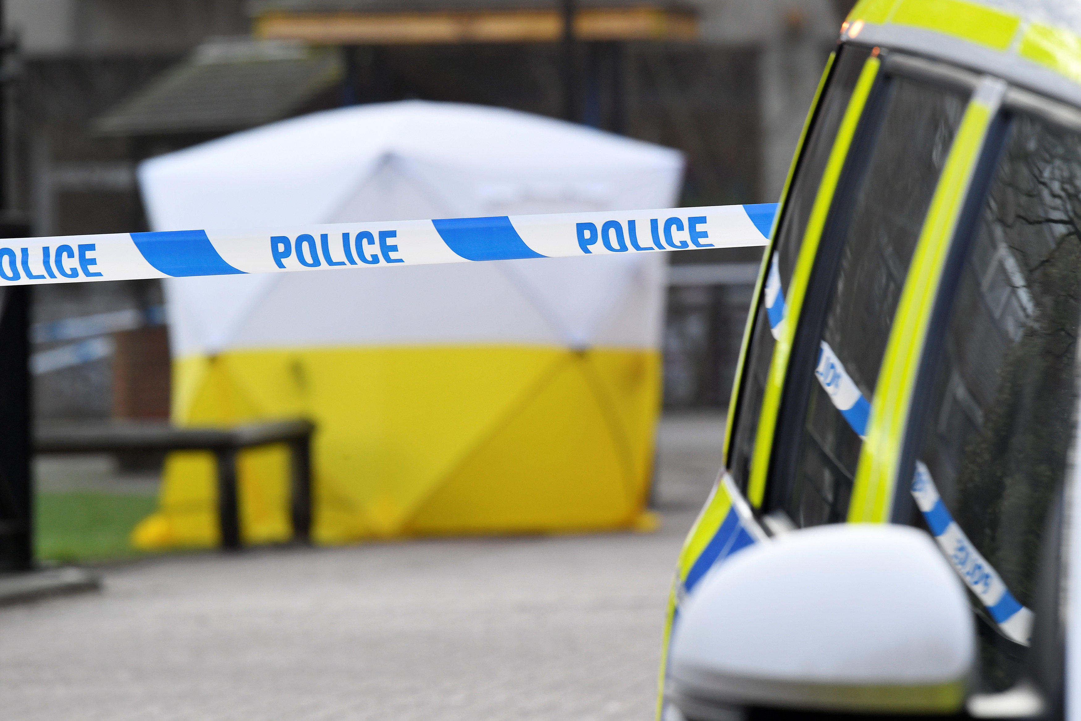 Ex-Russian double agent, woman found unconscious in Britain