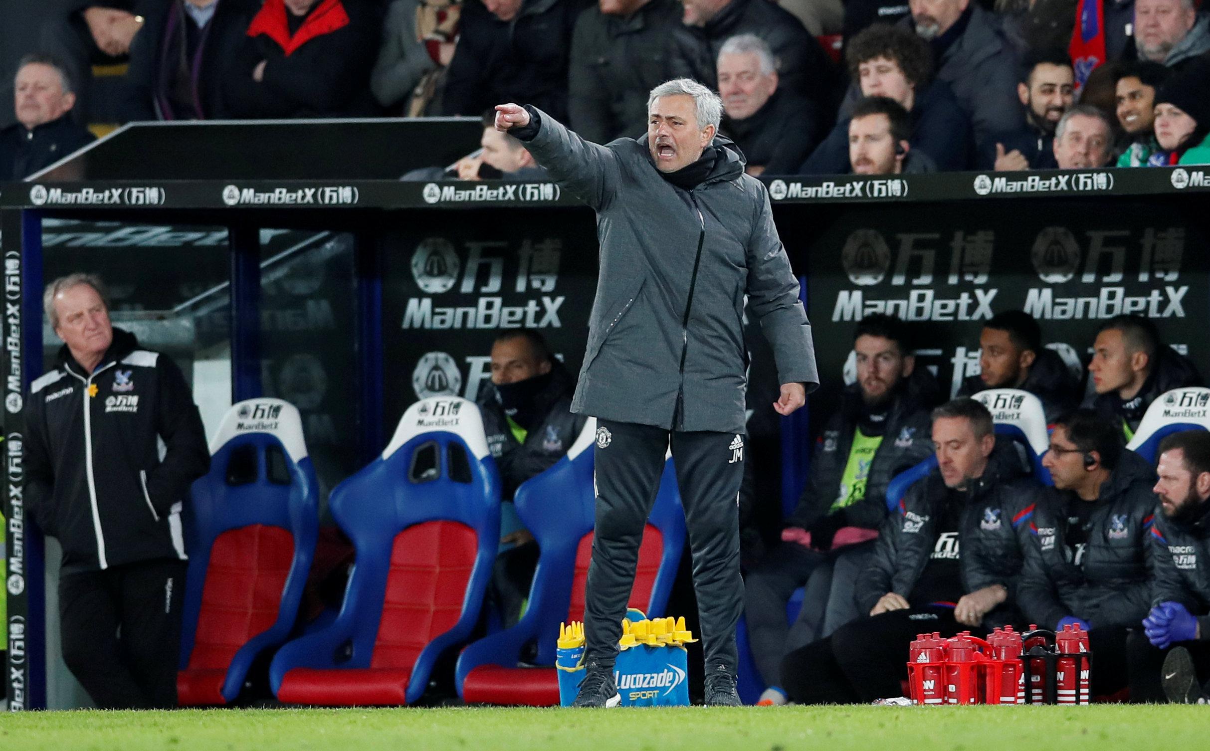 Man United won amazing match at Palace: Mourinho