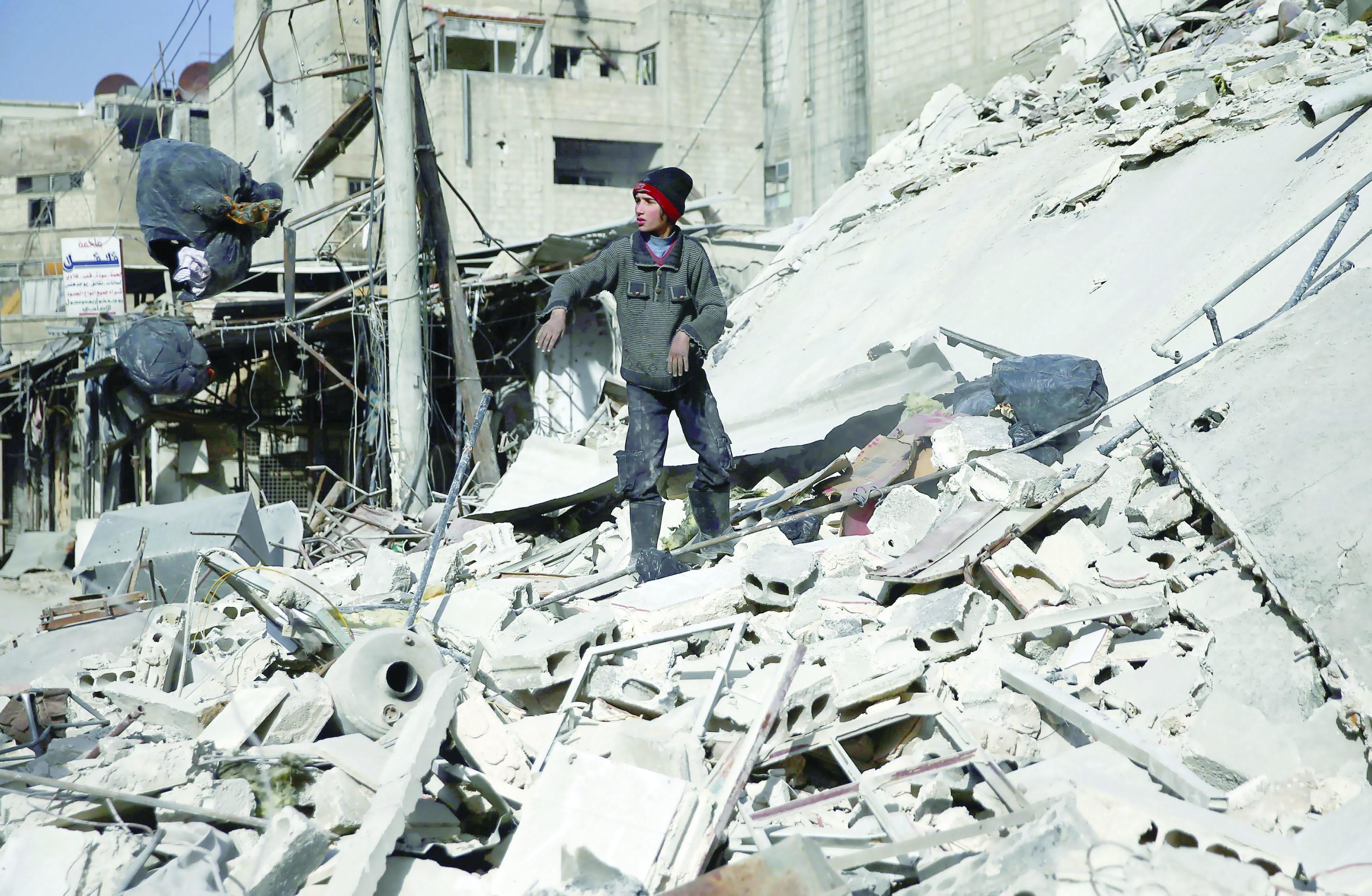 ضربة أمريكية محتملة على سوريا