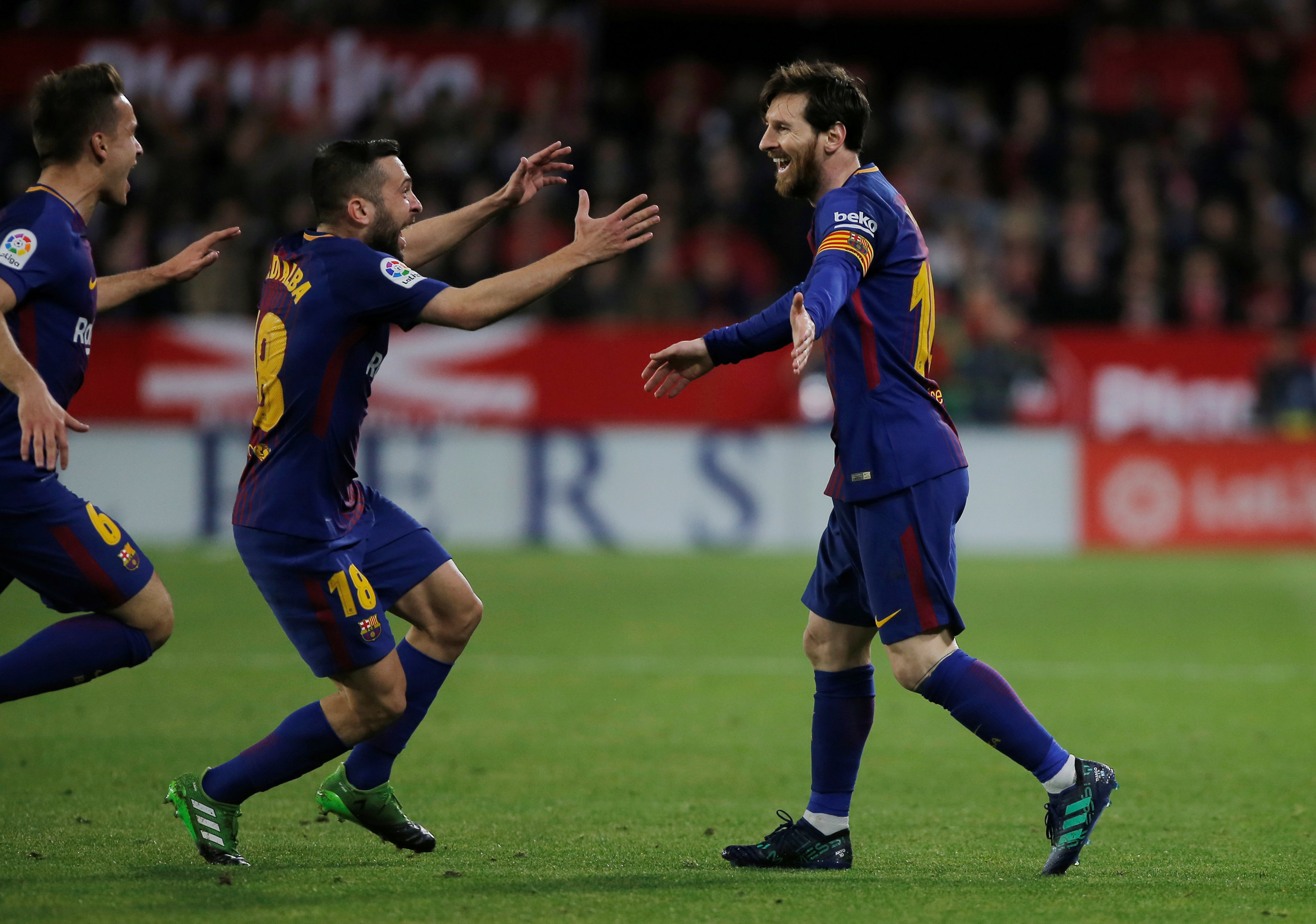 Football: 'Decisive' Messi proves worth to Barca