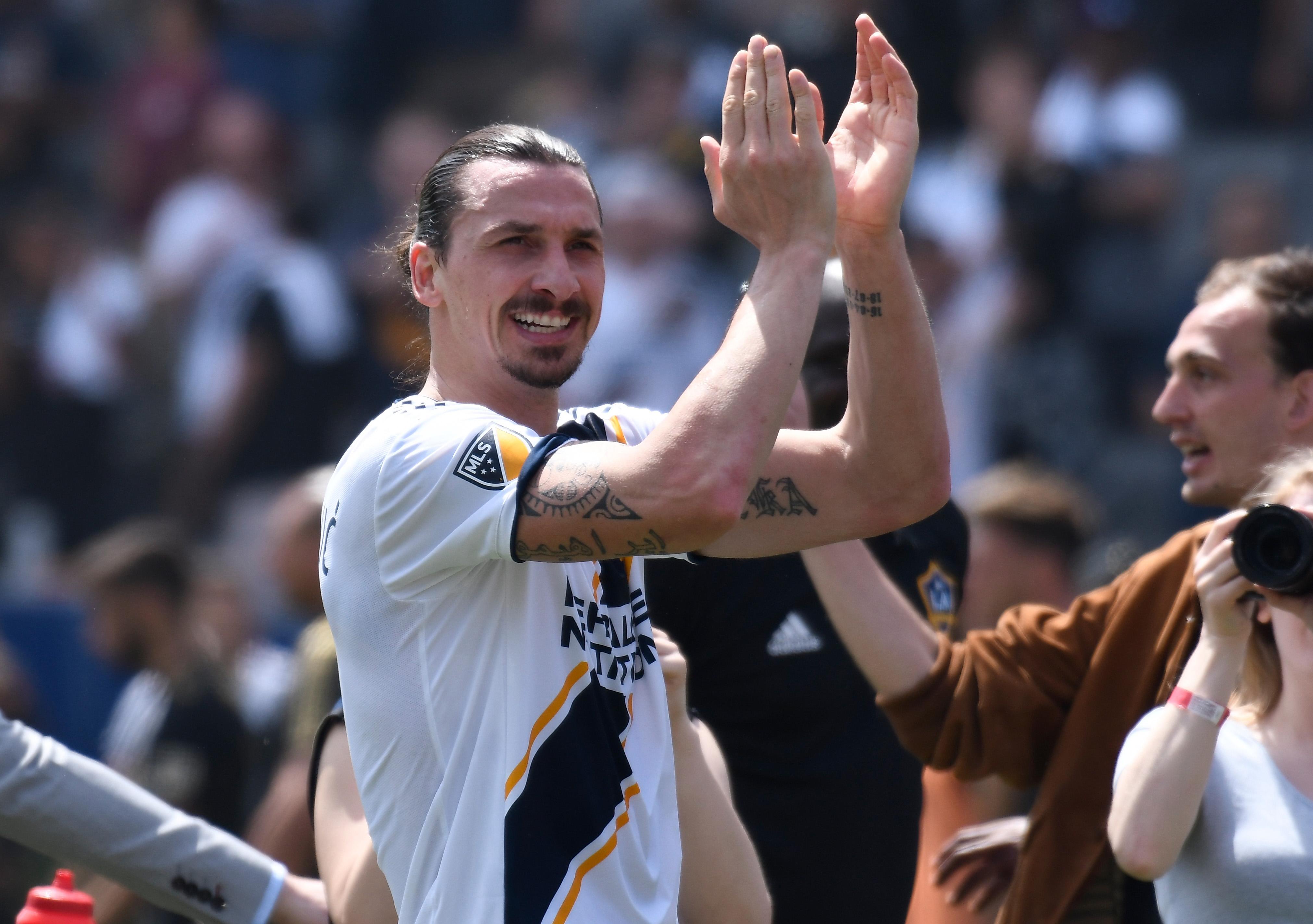 Football: Zlatan's dream Galaxy debut sends Sweden wild