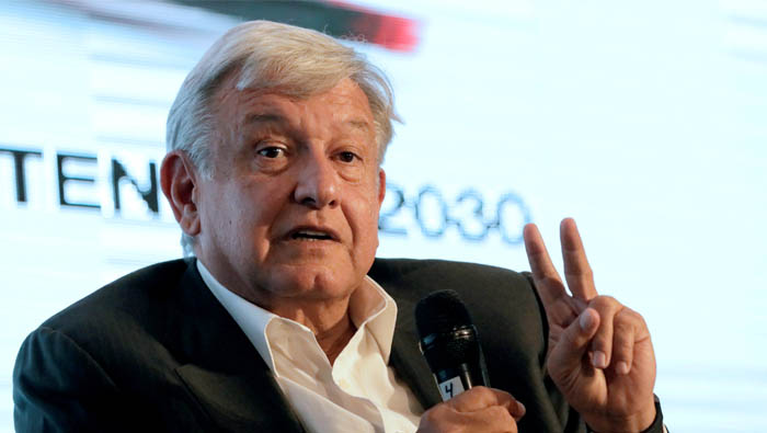 Mexican front-runner Obrador to campaign by US border