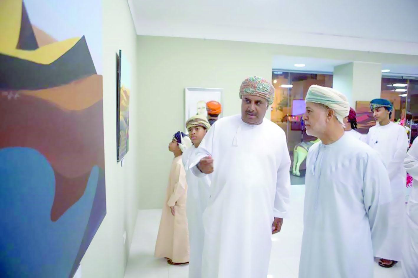معرض «لحن الصحراء»لسليم سخي في بيت الزبير