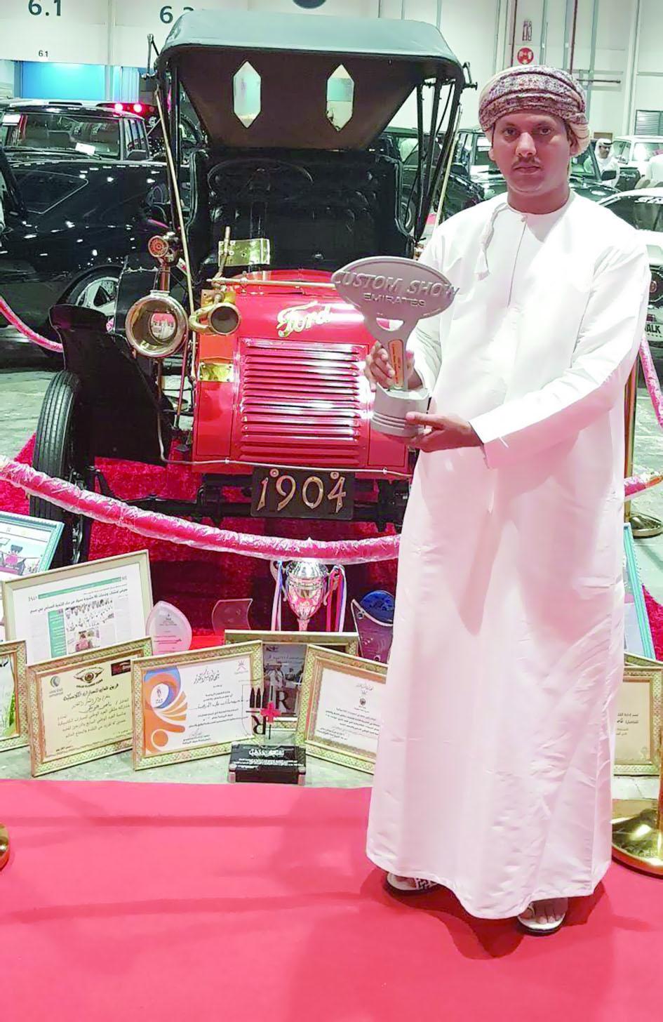 سيارة شاب عُماني.. تخطف لقب أفضل سيارة كلاسيكية بالشرق الأوسط