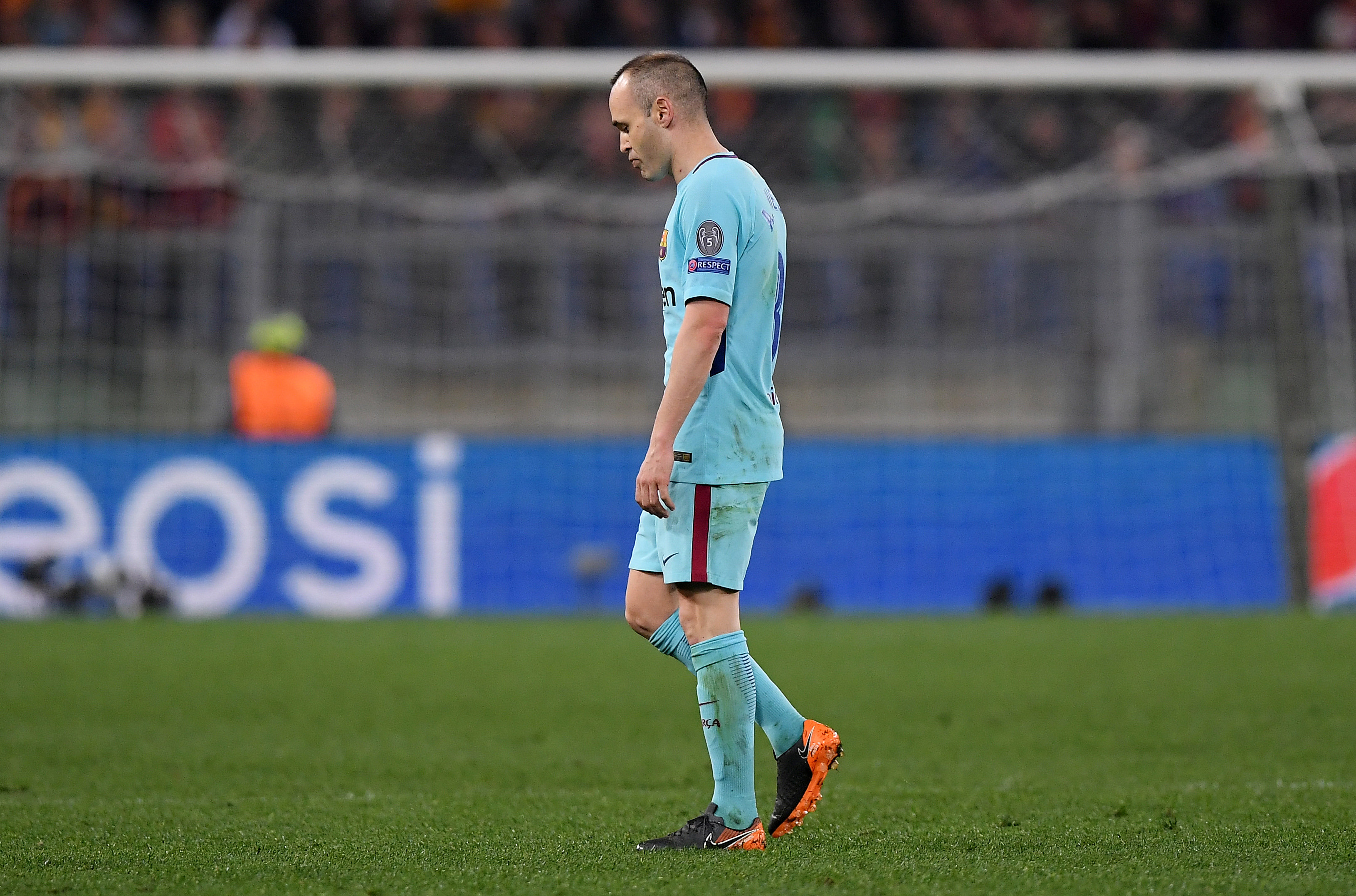 Football: No-one expected painful Barca defeat, says Iniesta