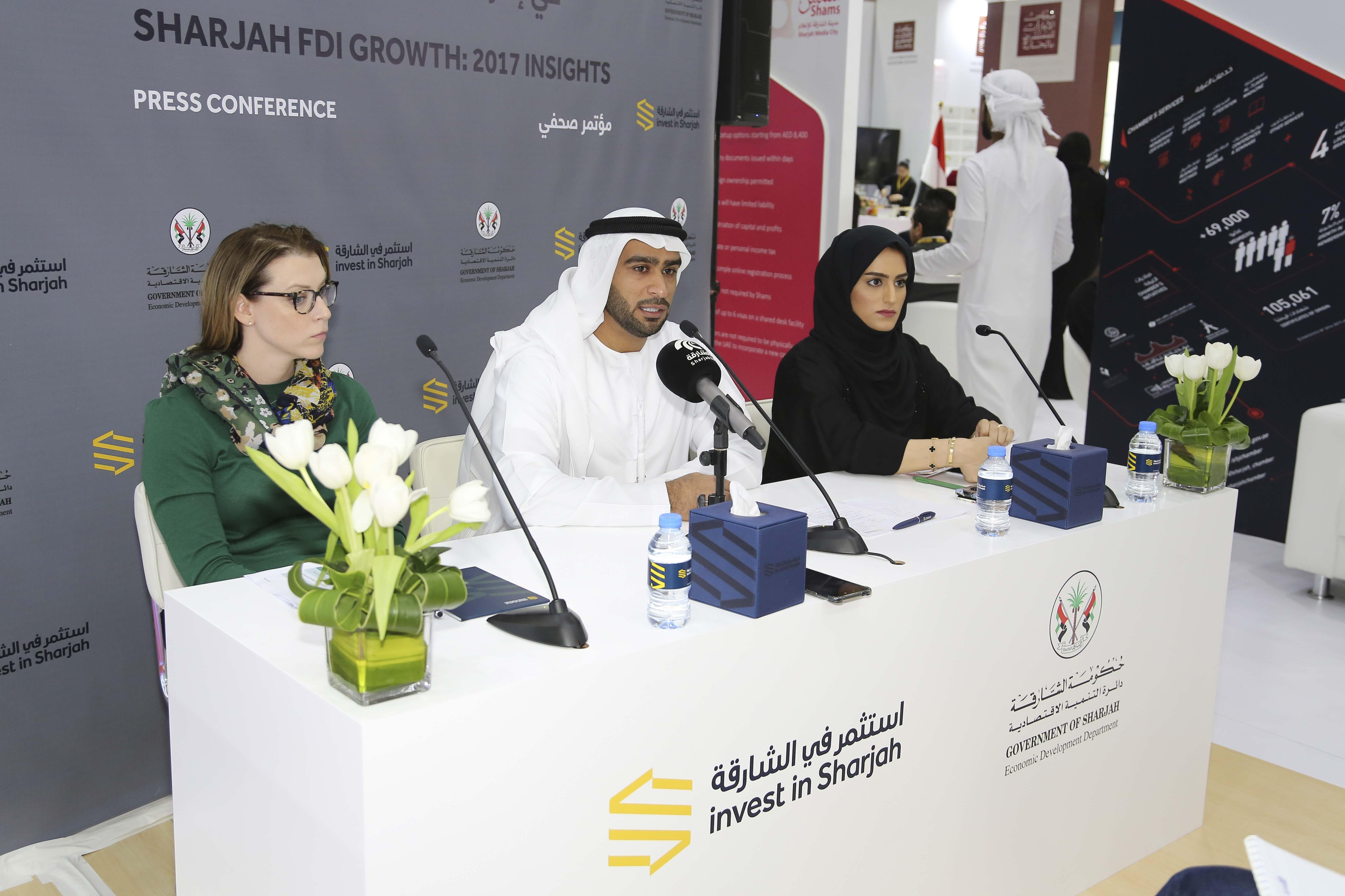 Sharjah attracts $1.62 billion FDI in 2017