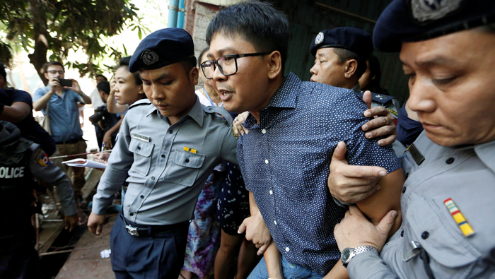 Myanmar judge rejects case dismissal request for two jailed reporters