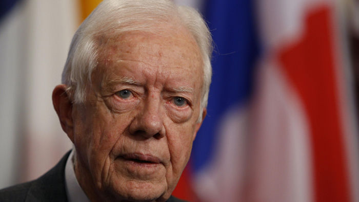 A peaceful world requires more women politicians: Carter