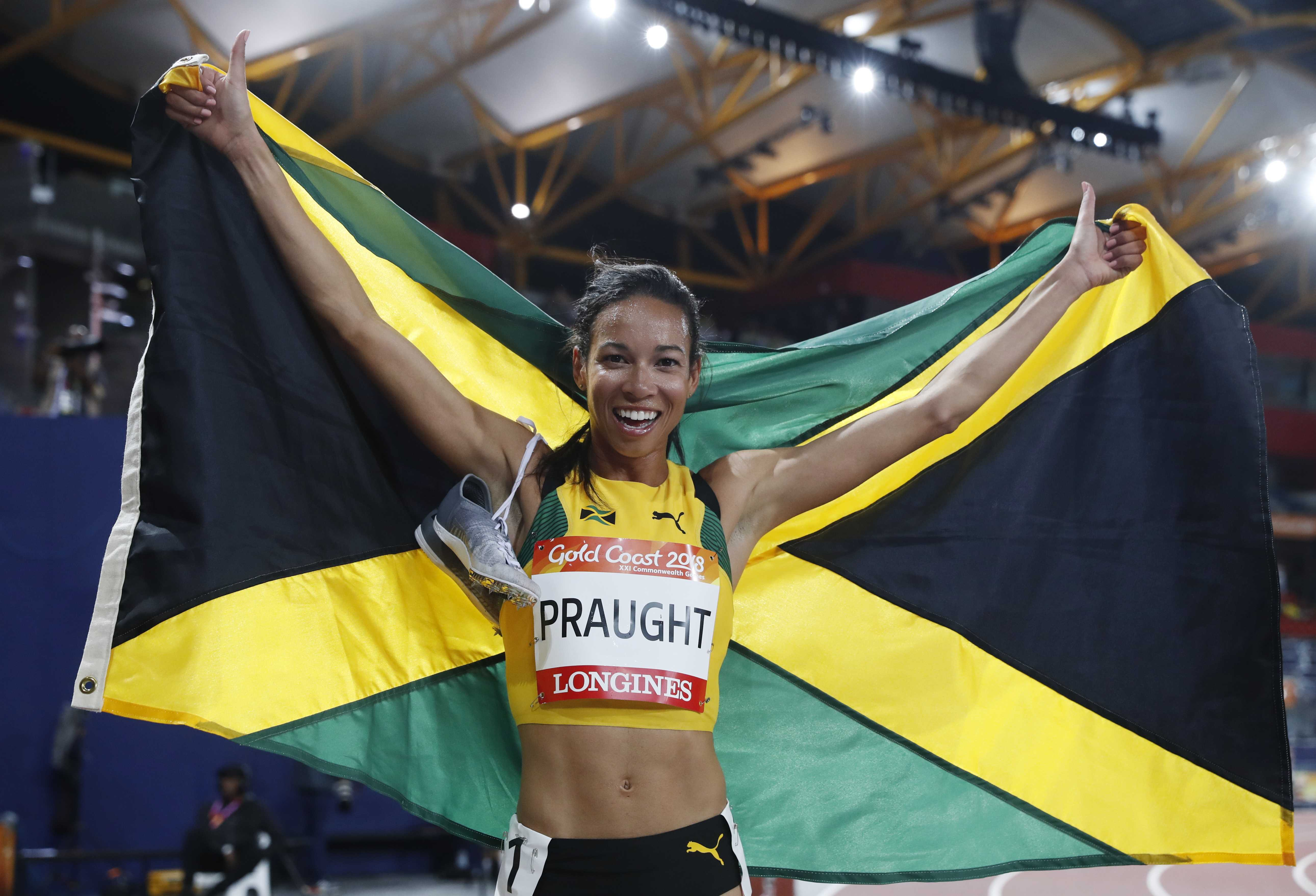 Commonwealth Games: Praught takes gold as Jamaica's women stand up