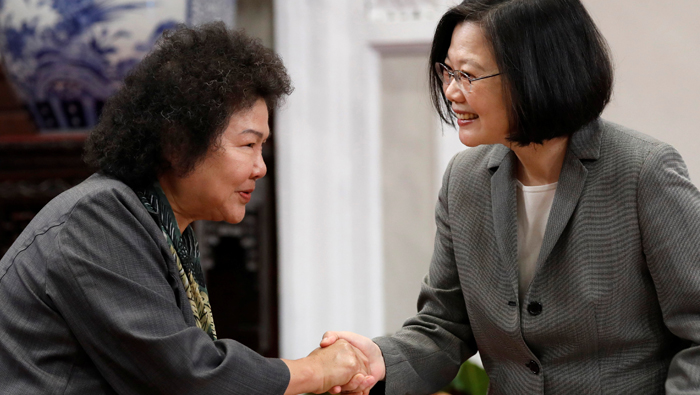 Taiwan leader appoints key ally to head presidential office