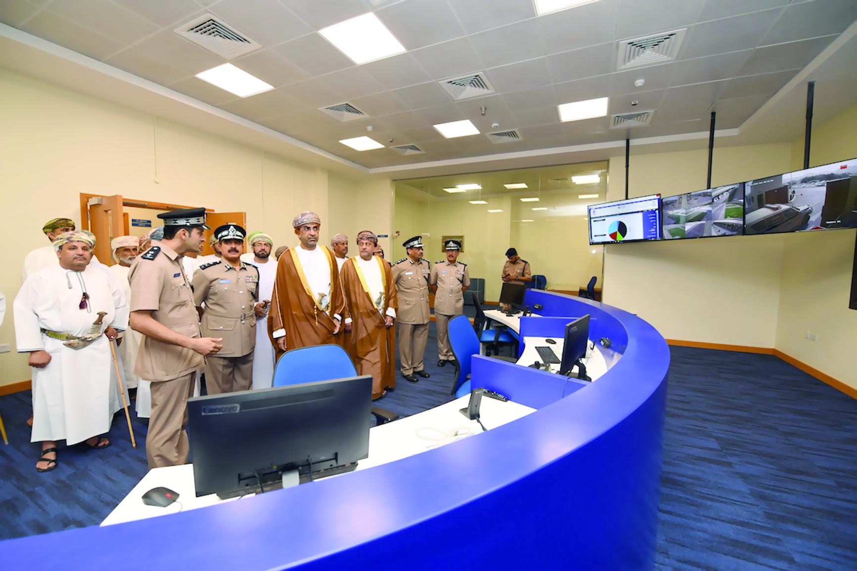 الاحتفــال بافتتـاح المبنى الجديد لمركز شرطة العامرات