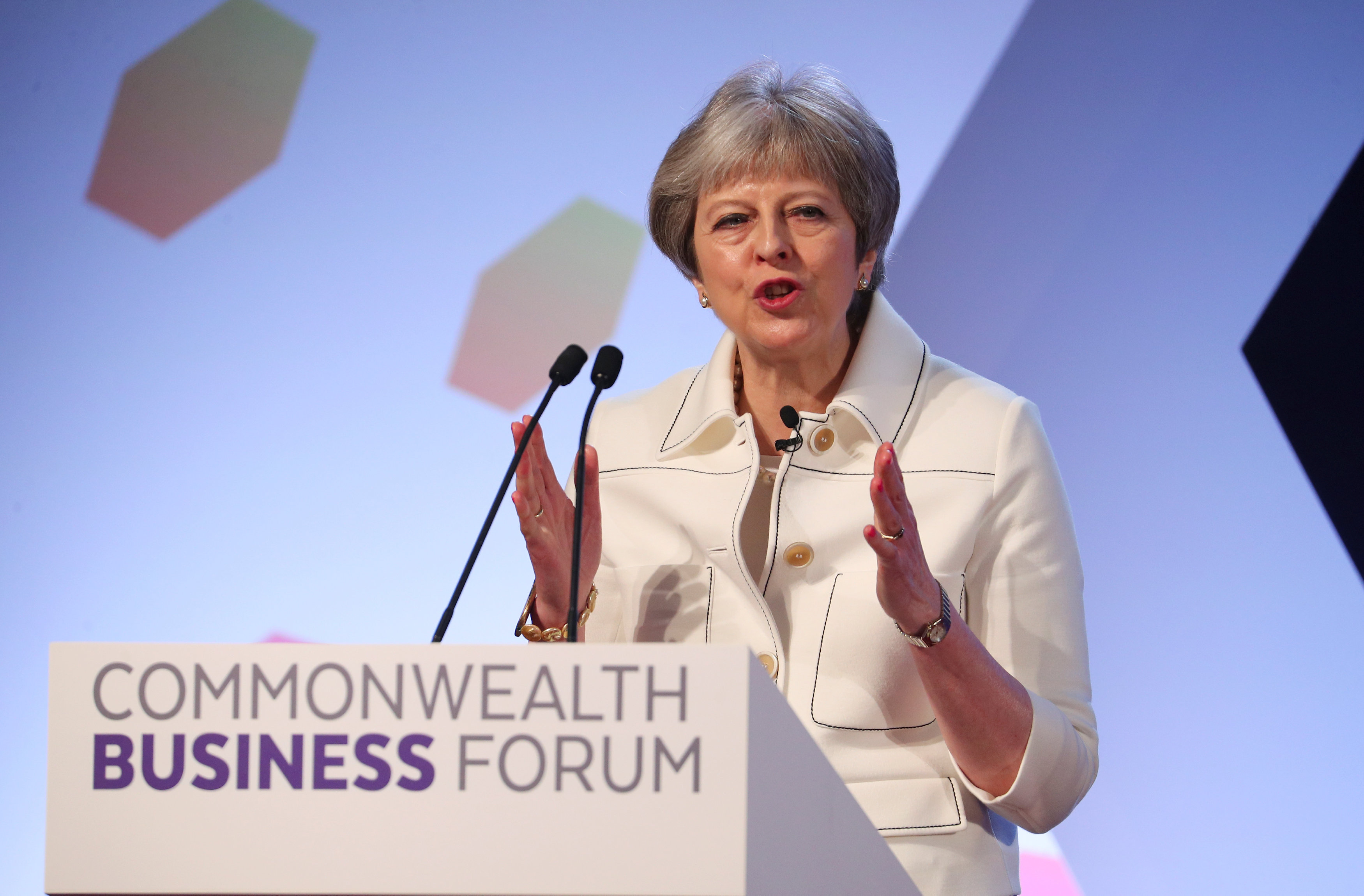 May seeks Commonwealth trade boost as final Brexit talks begin