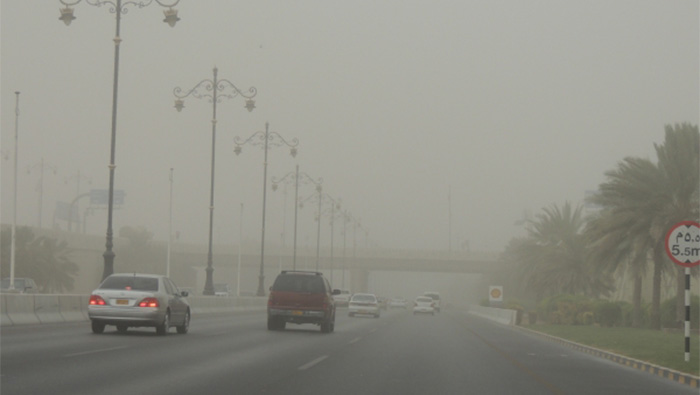 Weather warning: Low visibility in parts of Muscat