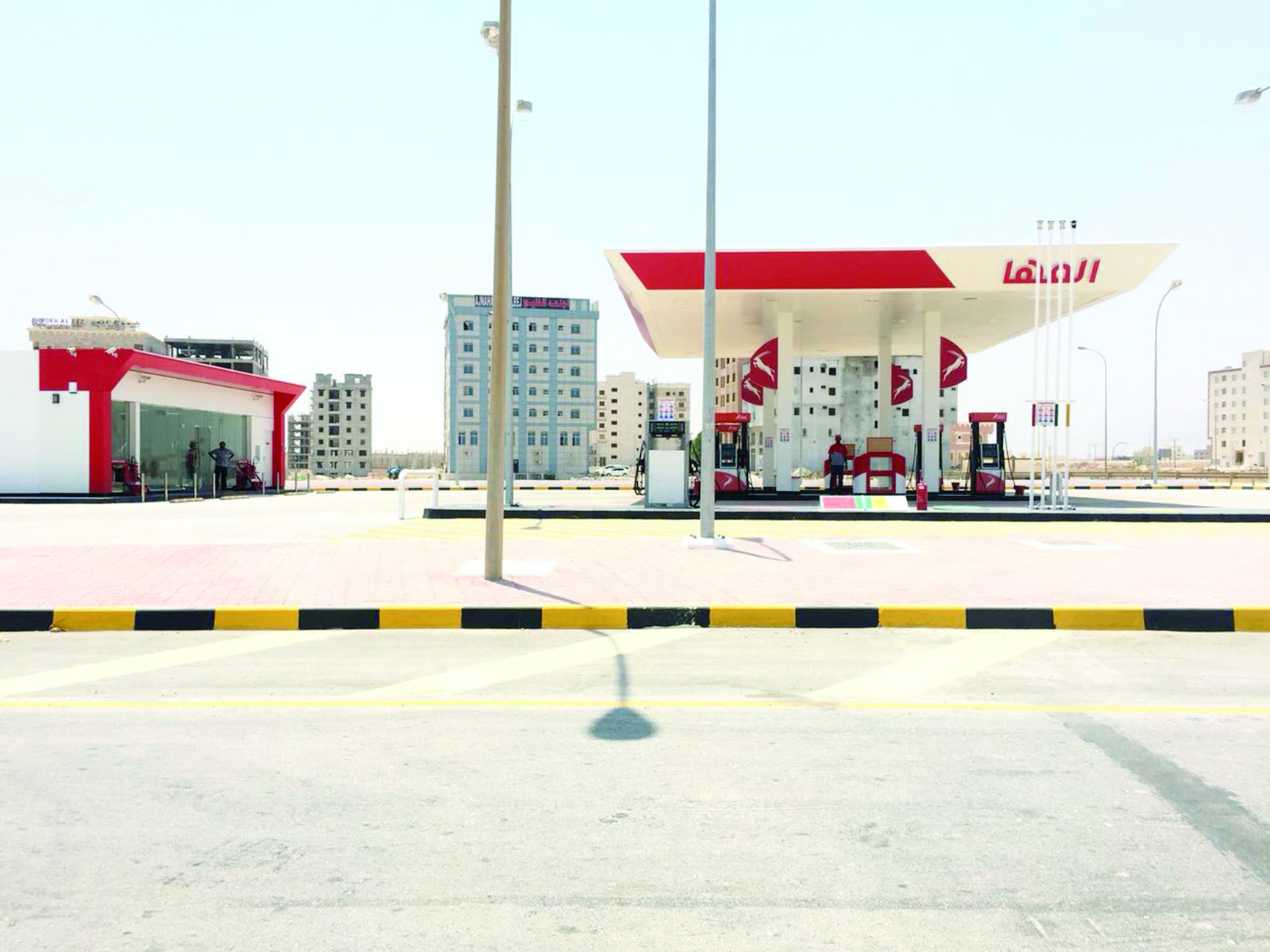 «المها» تفتتح محطة وقود في عوقد الشمالية