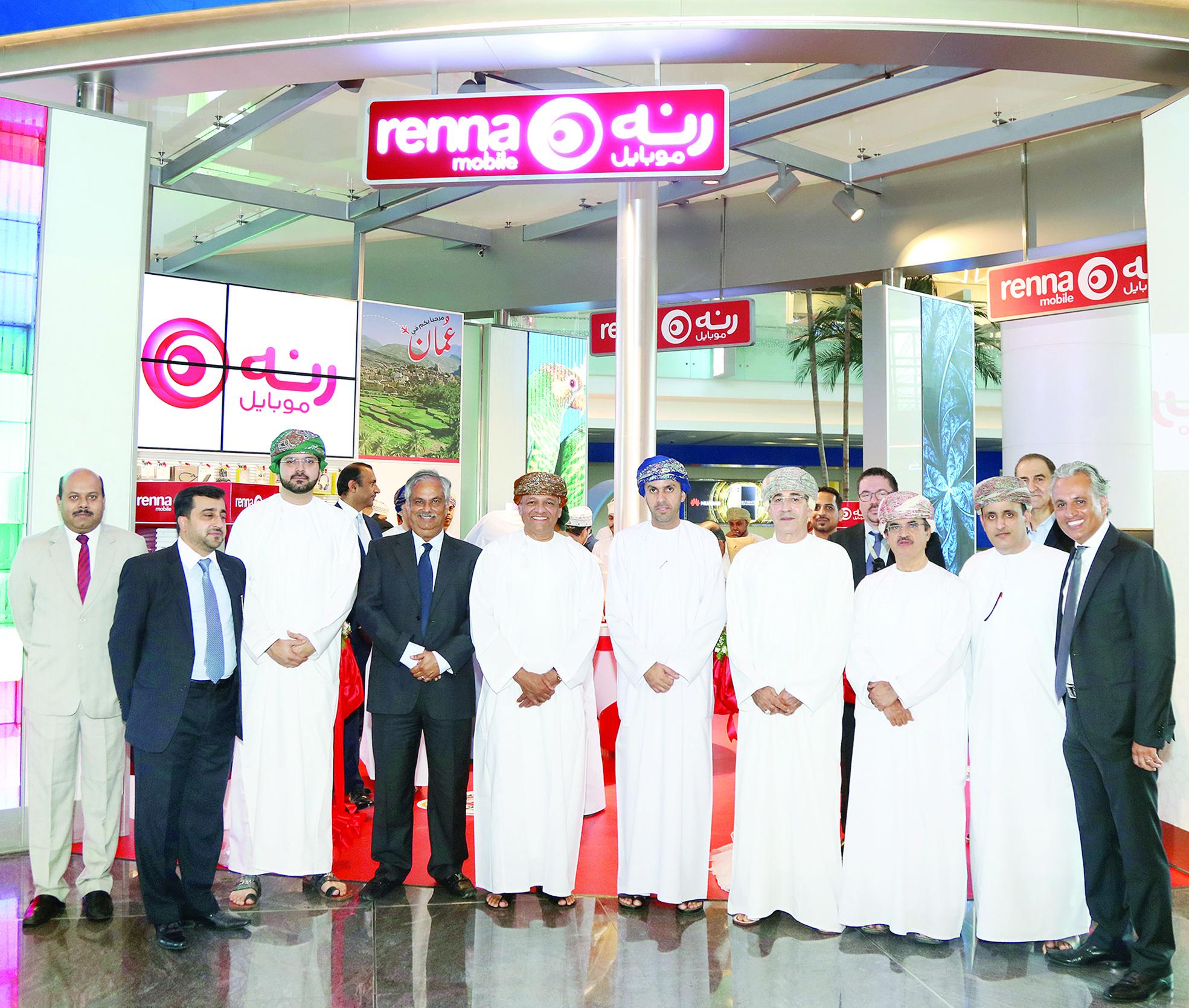 «رنة» تفتتح منصة لخدماتها بالمطار