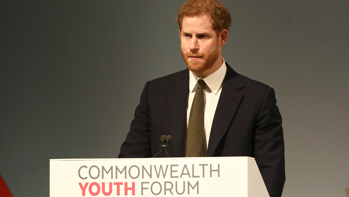 Prince Harry promises to listen at start of new Commonwealth job