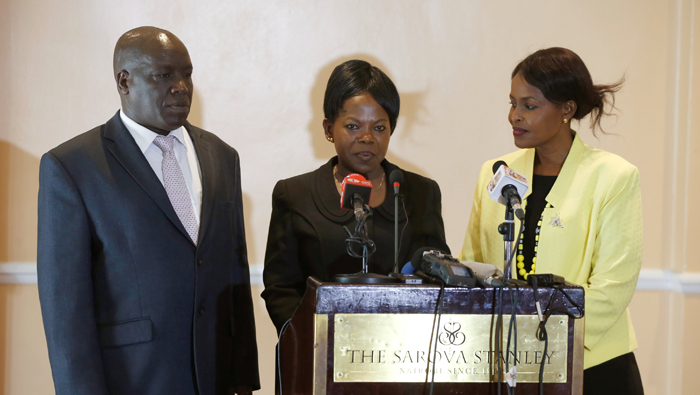 Kenya election officials quit
