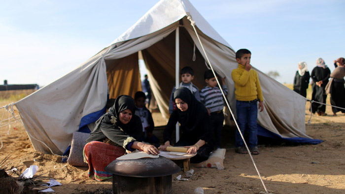 Yearning and camaraderie at Gaza protest camps