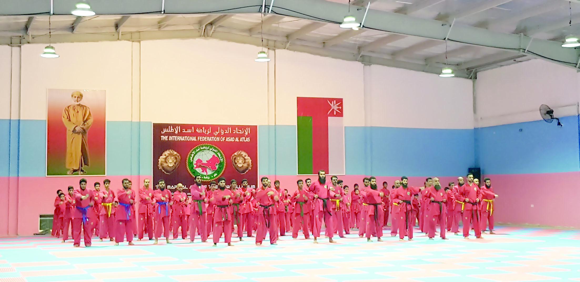 افتتاح قاعة رياضة أسد الأطلس بالعامرات