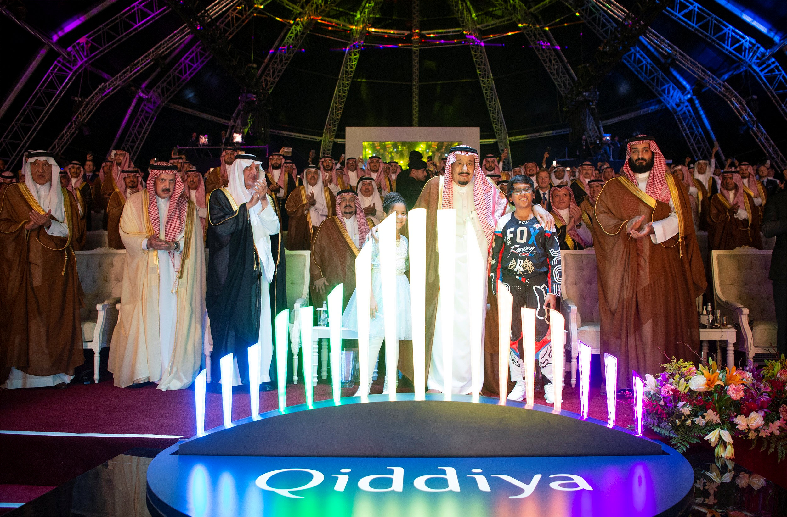 Saudi Arabia launches multi-billion dollar entertainment resort