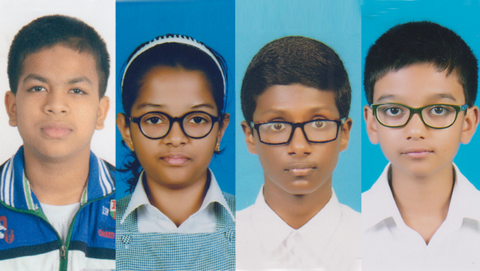 Four from ISG win Green Olympiad Examinations 2017