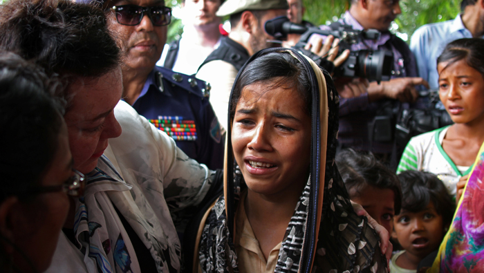 Rohingya refugees tearfully plead for UNSC help