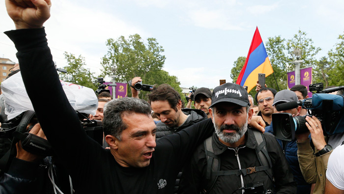 Armenia's ruling party says will not stop 'people's candidate' becoming PM