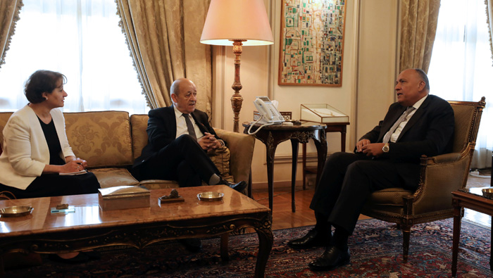 Egypt, France see need for Libyan elections by year-end, after 'relative progress'