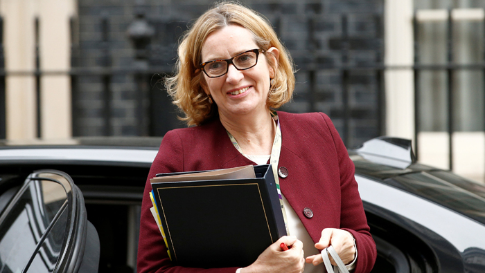 Britain's interior minister faces fresh calls to resign over deportation targets