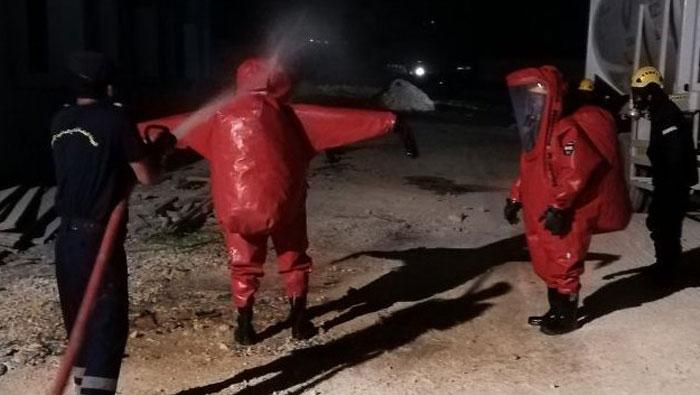 Rescue authority plugs hazardous gas leak in Muscat governorate