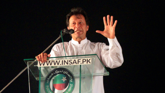 Pakistan's Imran Khan woos poor, vows radical change in election pitch