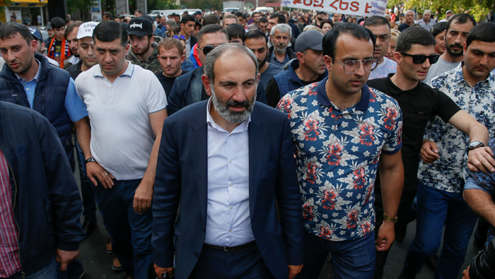 Armenian opposition leader becomes sole candidate for interim PM job