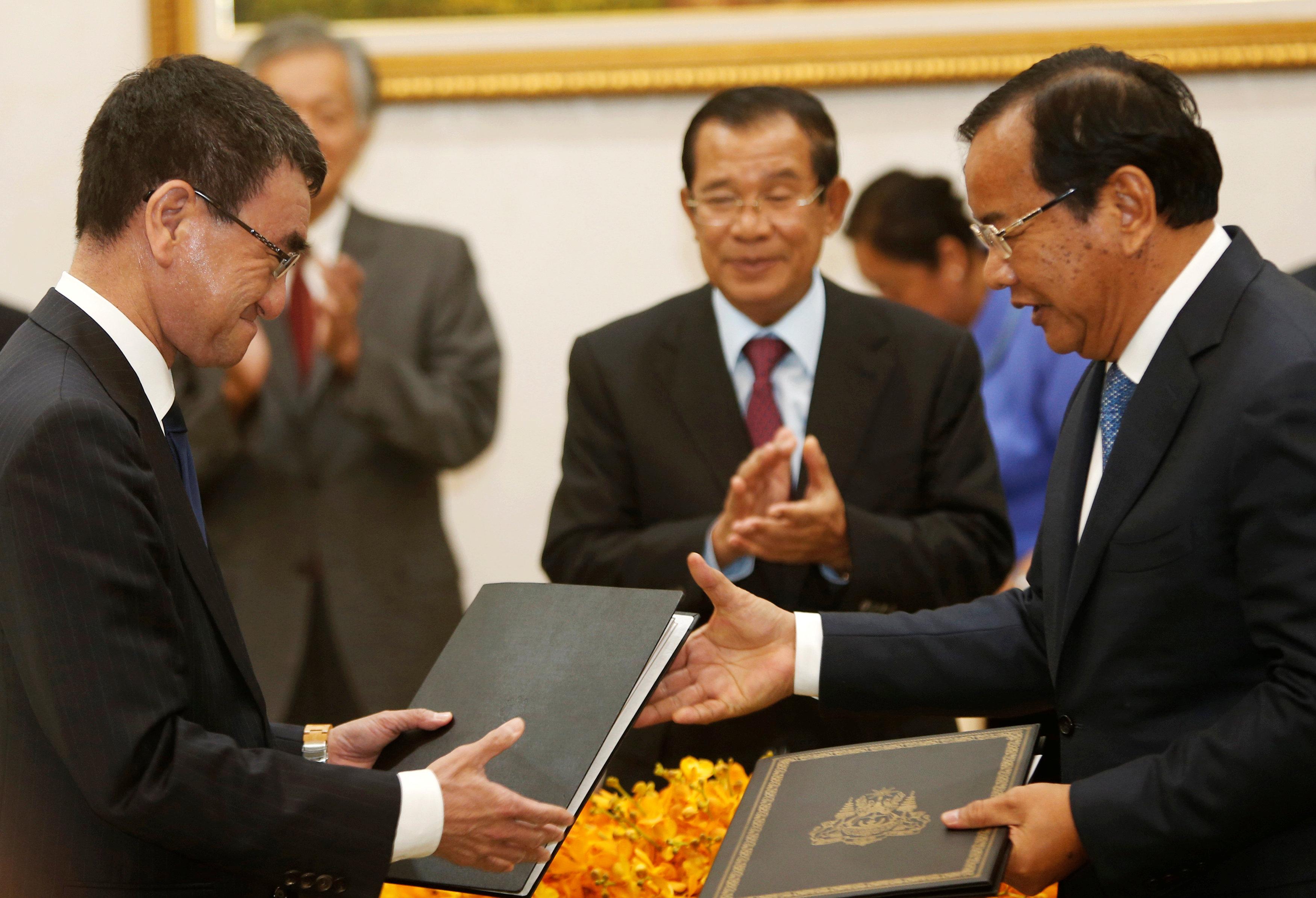 Japan, Cambodia sign $90 million aid deal