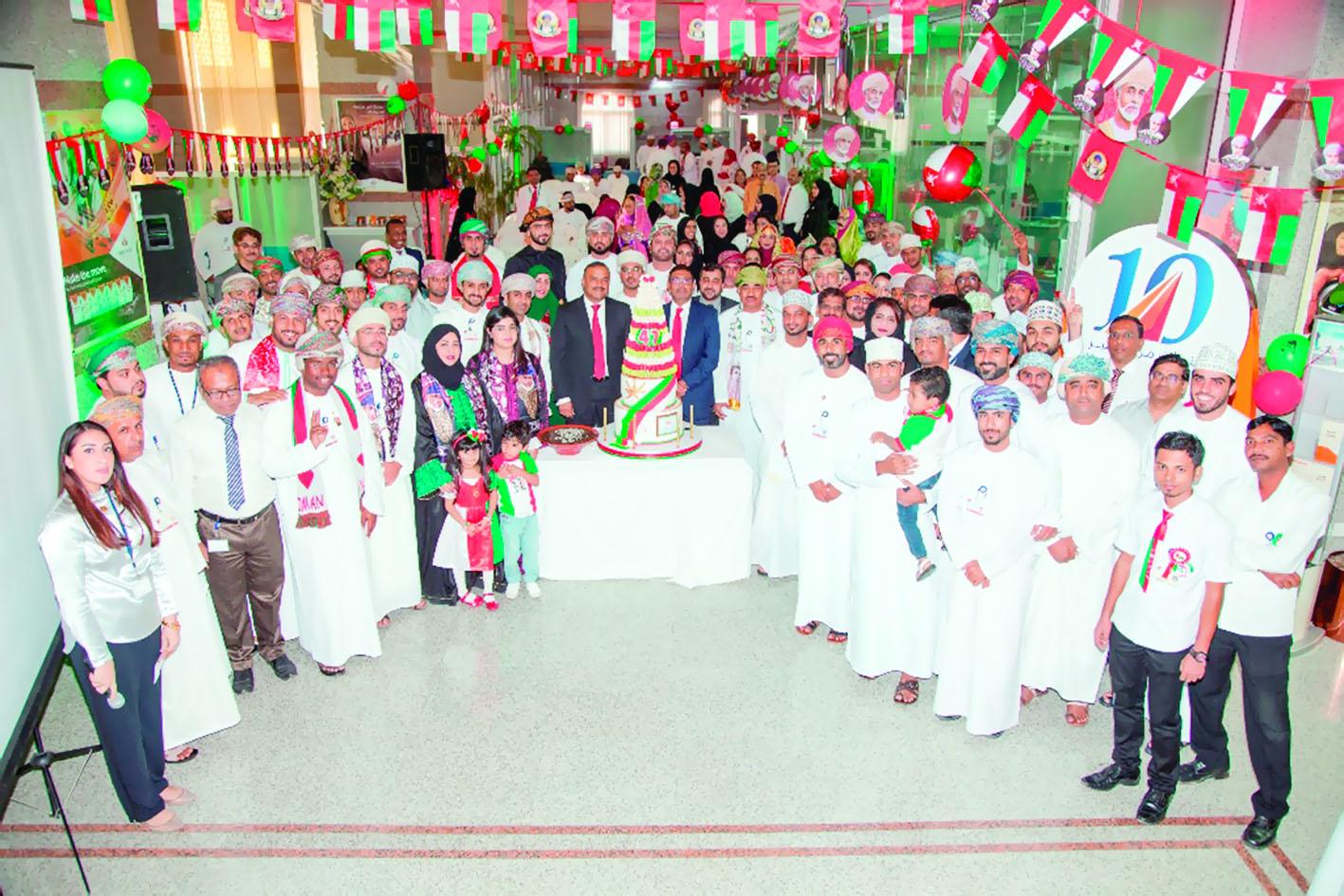 بنك صحار يحتفل بـ 11 عاماً من مسيرة التميز المصرفي