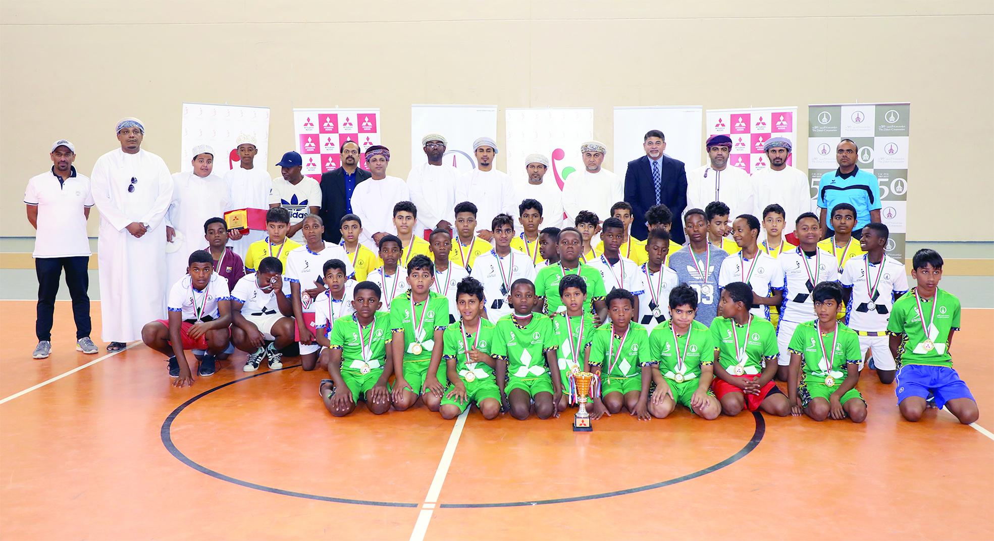 نظمت في إطار دعم «الزبير» للرياضة والشباباختتام فعاليات بطولة «ميتسوبيشي» المدرسية لكرة اليد