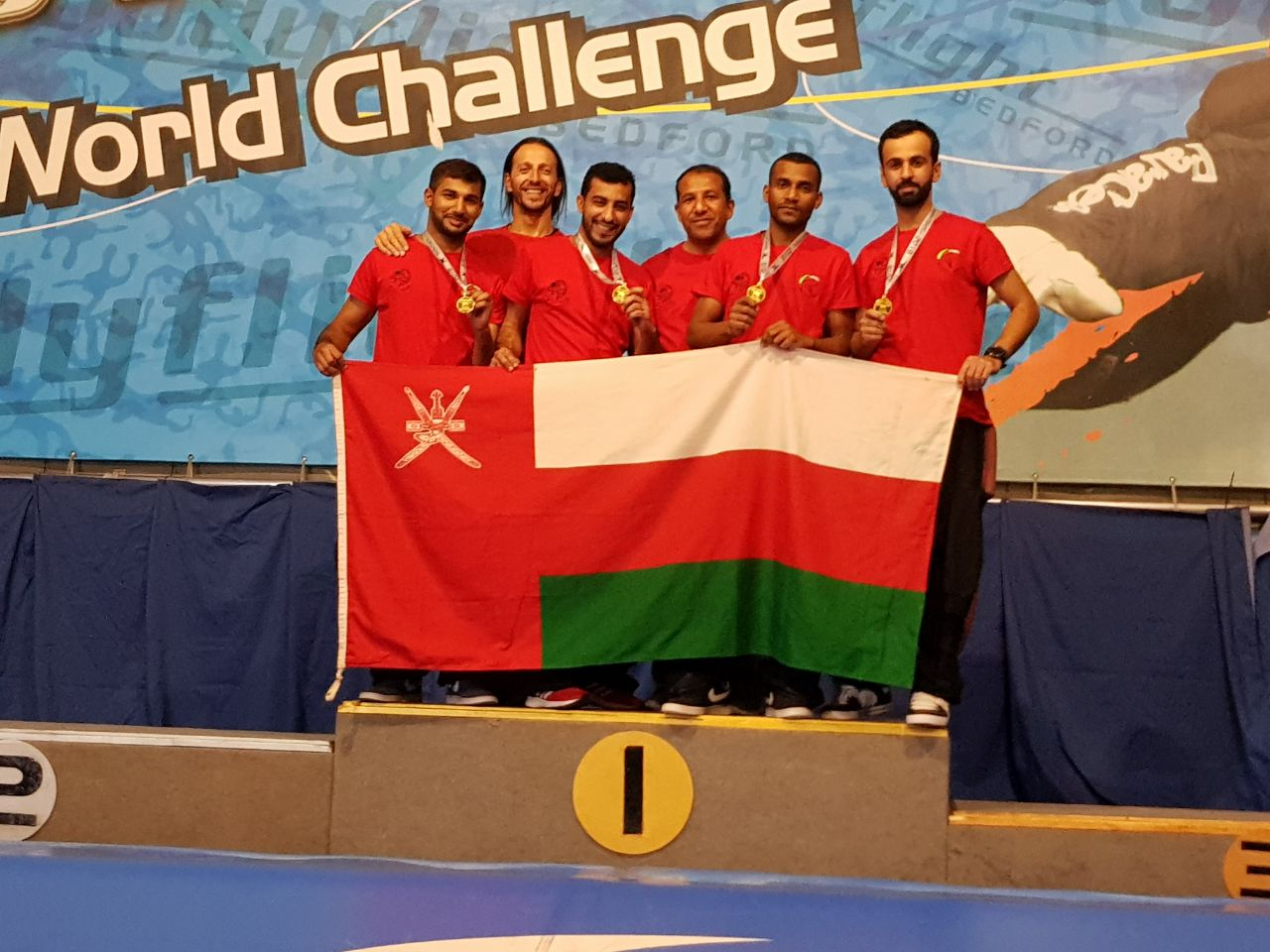 """""""الوطني للقفز الحر"""" أولا في مجموعته في بطولة التحدي العالمي بالمملكة المتحدة"""