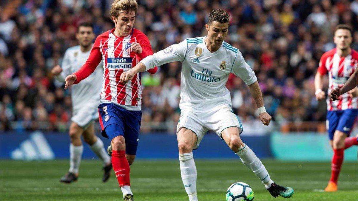 التعادل الايجابي يحسم ديربي مدريد